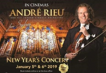 ANDRE RIEU'S 2019 NEW YEAR CONCERT FROM SYDNEY