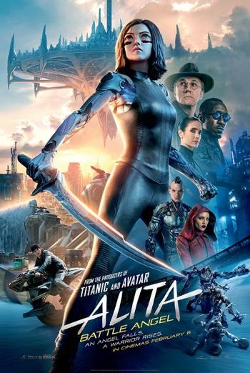 ALITA: BATTLE ANGEL IN 2D